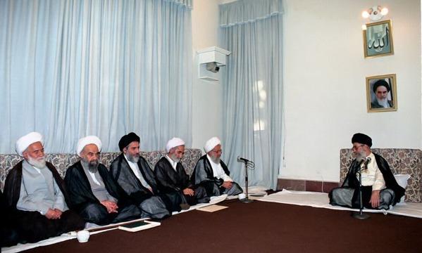 دیدار اعضای شورای عالی حوزههای علمیه با مقام معظم رهبری در تاریخ ۷۶/۶/۲۹