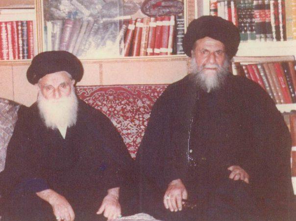 در کنار برادر بزرگتر، مرحوم آیتاللهالعظمی سیدحسن طباطبایی قمی