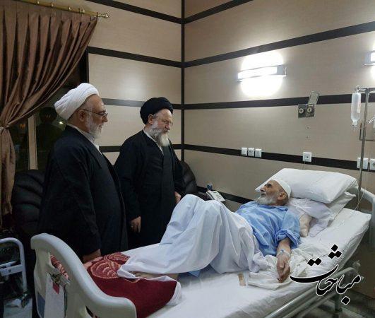 حجج اسلام سیدمحمدباقر گلپایگانی و محمدحسین صلواتی