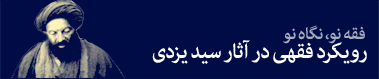 رویکرد فقهی سید یزدی