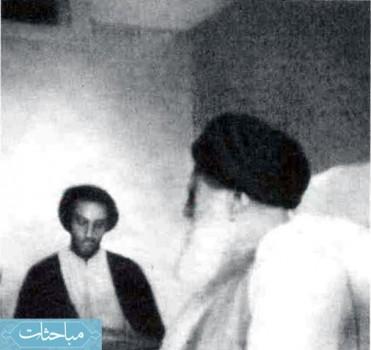 ملاقات نواب صفوی با مرحوم آیتﷲ صدر الدین صدر