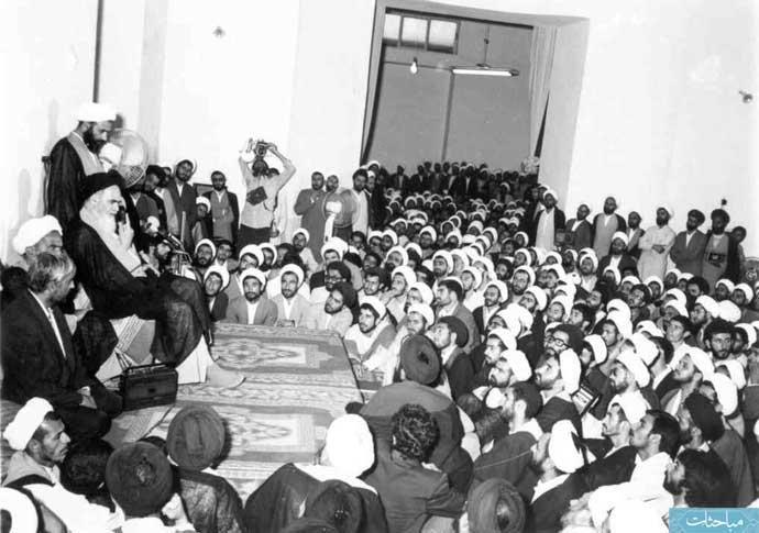 clergymen&imam-khomeini