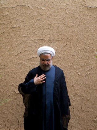hasan-rowhani-infront-of-wall