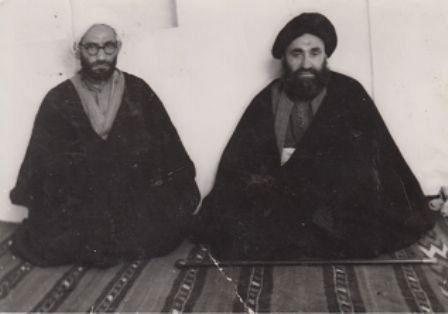 آیتﷲ مرعشی نجفی و شیخ محمد شریف رازی